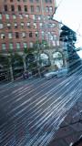 Broken Mirror at the bottom of Market Street