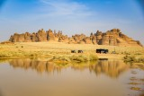 Reflections after overnight rain in AlUla.jpg