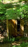 We still have outhouses here in the woods.