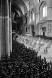 Dans la cathédrale de BordeauxDistanciation sociale
