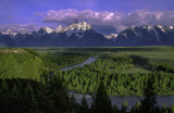 Snake River Overlook, Grand Teton National Park, WY