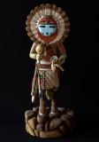 Sun Kachina, Hopi Carving