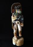 Corn Dancer Kachina, Hopi Carving