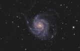 M 101 Pinwheel Galaxy in Ursa Major