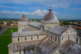 The Duomo and Baptistry, from the Leaning Tower of Pisa