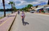Susan and I enjoyed a bike ride on the island of Corfu, Greece.