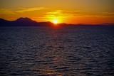 Sunset on the Ionian Sea, near Greece