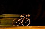 Speedy cyclist.