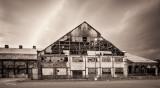 Abandoned building at Bethlehem Steel, Pennsylvania.