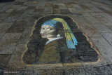 Cologne  Cathedral  court yard pavement art