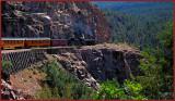 DURANGO SILVERTON NARROW GAUGE RAILROAD TRAIN