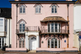 Sea front house in Sidmouth