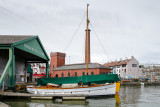 Boat yards and pumping station for the Floating Harbour - Bristol