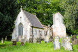 Old church and burial ground @ Bicton Park