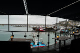View of Brixham Harbour from Rockfish restaurant