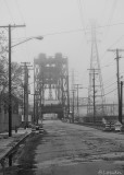 West 3rd Lift Bridge #fog