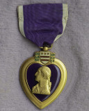 My Father's Purple Heart from WWII