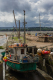 Fishing boat at Lympstone