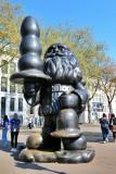 Rotterdam. Santa Claus Sculpture