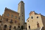 San Gimignano. Piazza del Duomo