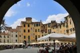 Lucca.Piazza dell´Anfiteatro Romano