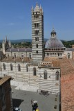 Siena. View from the Facciatone
