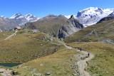 Zermatt. Hiking around the Schwarsee area