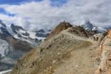Zermatt. Hiking in the Gornergrat