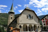 Zermatt. Pfarrkirche St. Mauritius