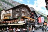 Zermatt. Bahnhofstrasse