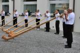 Alphorn concert in Kandersteg