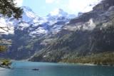 Kandersteg. Lake Oeschinen