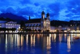 Lucerne. Jesuit Church (Jesuitenkirche)
