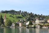 Lake Lucerne. Weggis