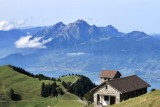 Mount Rigi with Mount Pilatus in the distance