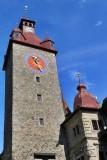 Lucerne. Town Hall on Kornmarkt