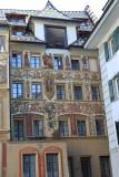 Luceerne. Hotel des Balances
