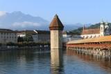 Lucerne. Kapellbrücke