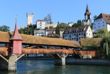 Lucerne. Spreuerbrücke