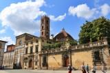 Lucca. Piazza San Martino