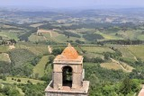 San Gimignano. View from the top of the Torre Grossa