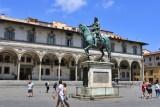 Firenze. Piazza della SS.Annunziata
