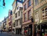 les rues de Rouen