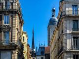 Rouen, tours et balcons