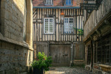 old houses in Honfleur