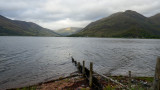 Loch Duich, rainy evening