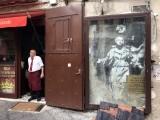 Banksy mural, Piazza Gerolomini - Via dei Tribunali - 3436