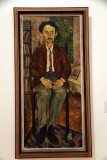 Portrait of Author Eliezer Steinman (1929) - Haim Gliksberg - 2561