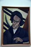 Portrait of Poet Avraham Shlonsky (1925) - Slonah Tagger - 2563