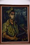 Soldier with a Sten Gun (1948) - Aharon Avni - 2573